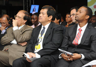 Participants at the 2012 GPF in South Africa.