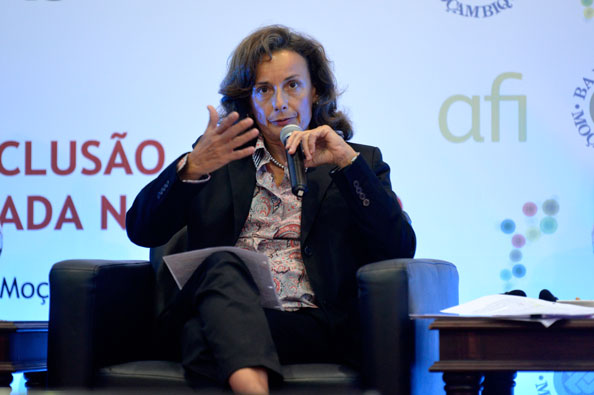 Gloria Grandolina pictured at the 2015 Global Policy Forum in Maputo, Mozambique, in September.