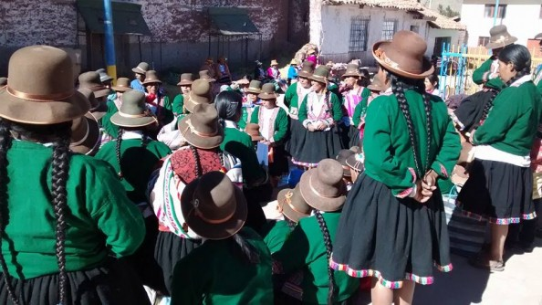 Group in Peru.